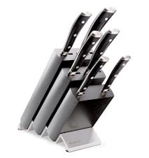 CLASSIC IKON Knivblock Set 6 delar