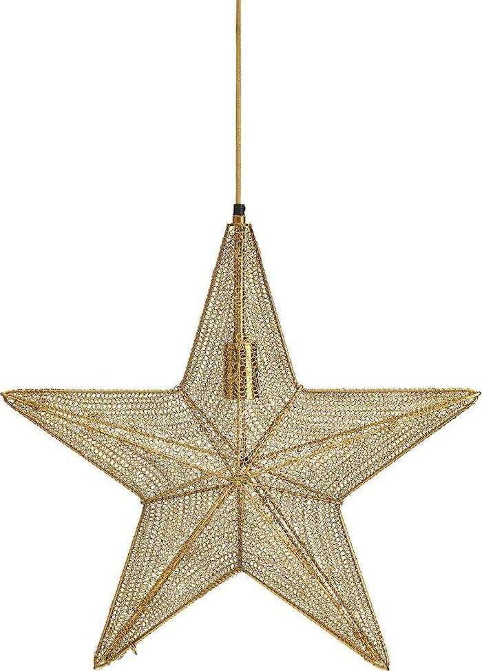 Orion hengende stjerne Gull 44cm