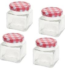Förvaringsburk Set 4-pack
