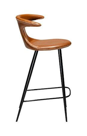 Barstol Flair Konstläder 90 cm - Vintage Ljusbrun