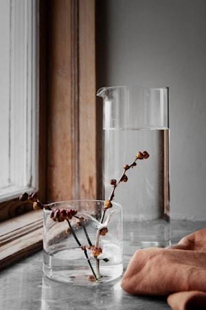 Mjölkkanna Glas 7 cm