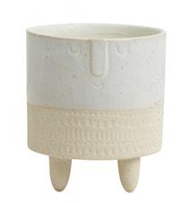 FACE Vas Keramik Créme 14cm