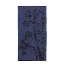 Taika Kylpypyyhe Sininen 70x140 cm
