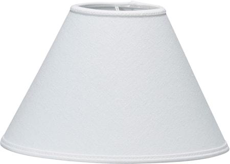 Royal Lampeskjerm Franza Hvit 14 cm