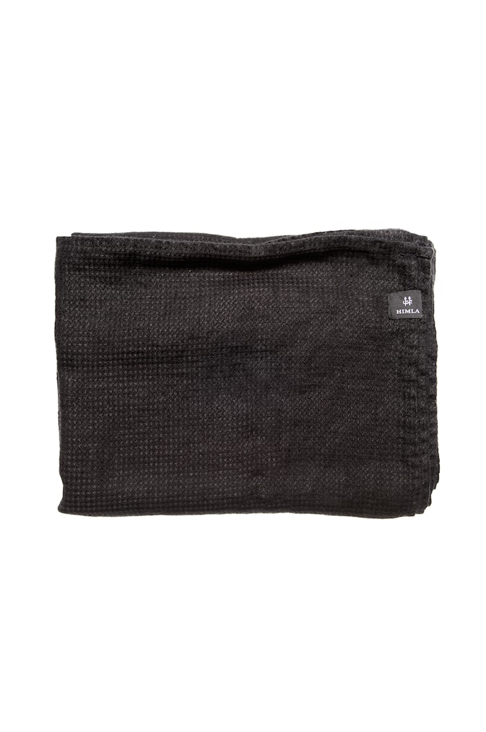 Badehåndkle Fresh Laundry 100 x 150 cm - Svart