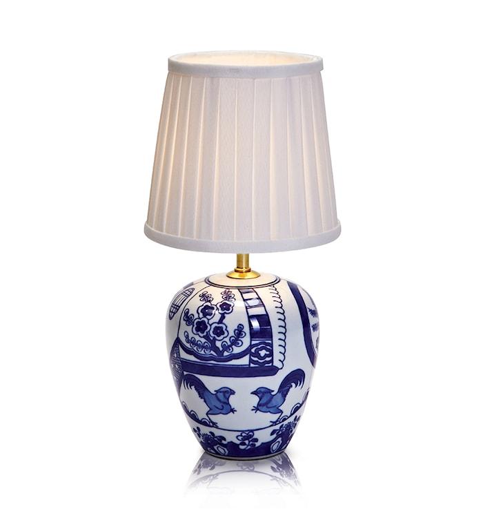 Göteborg Bordlampe Blå 17 cm