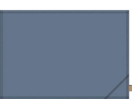 Attitude Bordstablett Blå 33cm x 48cm