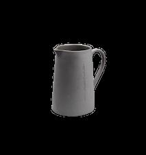 Mjölkkanna I det enkla mörkgrå