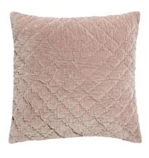 Tyynynpäällinen Quilted 50x50 cm - Vaaleanpunainen