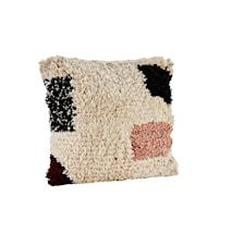 Cushion cover w/ fringes