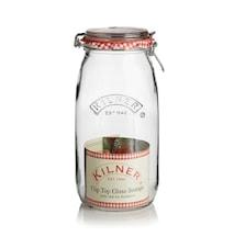 Konserveringsglass vippelokk 2 L