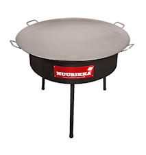 Griddle 100 cm with Wind Protection
