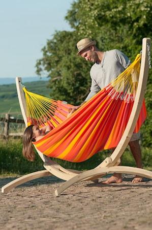 Canoa hängmatteställning