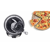 Bosch Foodprosessor MCM3501M Rustfri