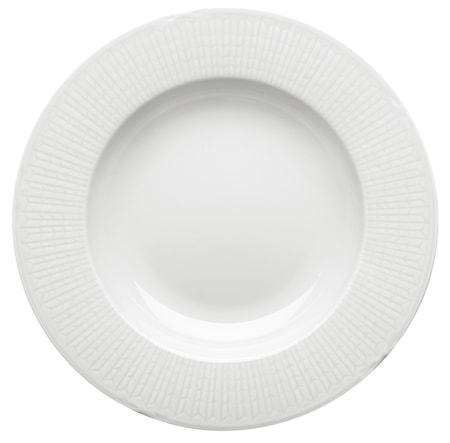 Swedish grace, snø Dyp tallerken 25 cm