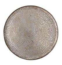 Bricka Grå Aluminum