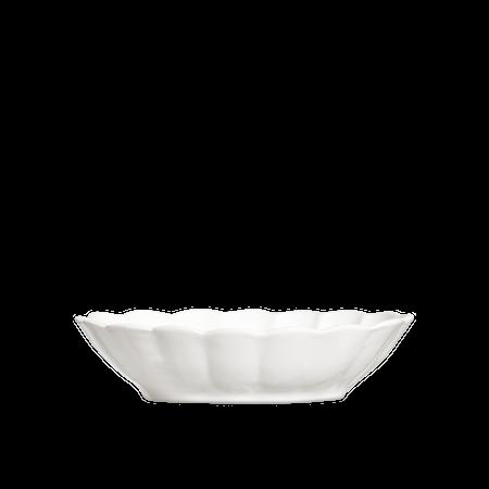 Oyster Skål Vit 23x18 cm