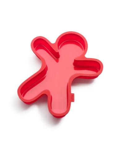 Pepparkaksgubbe röd Lékué