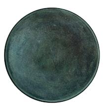 Bricka, Grön, Aluminium 40 cm
