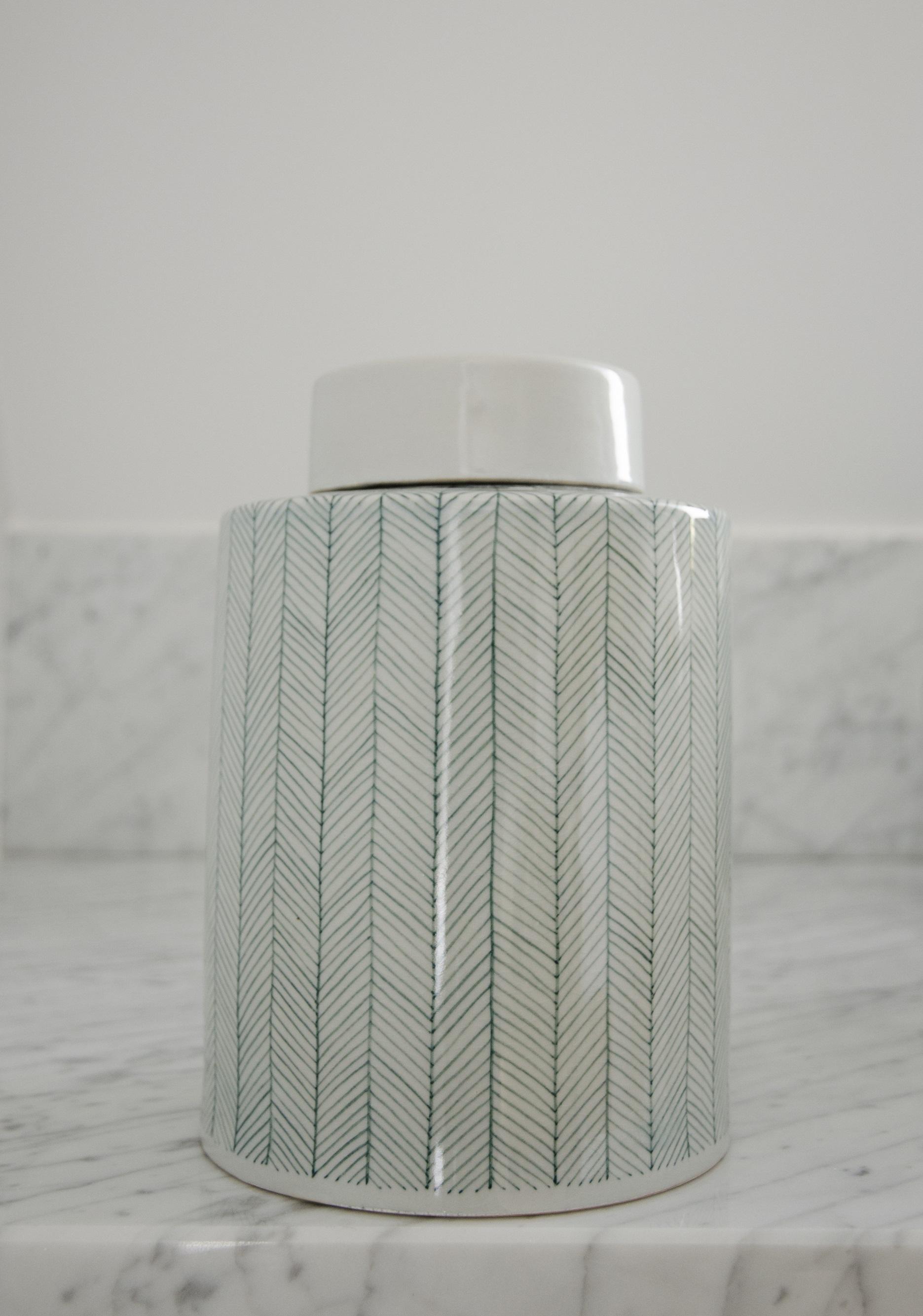 Tweed keramikburk – Celadon