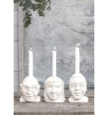 LW Icons ljusstake Mahatma Gandhi