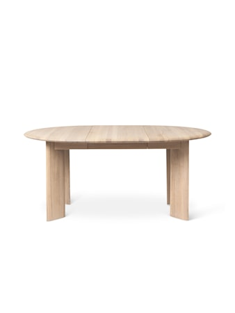 Bevel Table Extendable x 1 - White Oiled