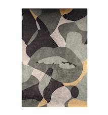 Ullteppe Abstracto Olive/Multicolour 300x200 cm