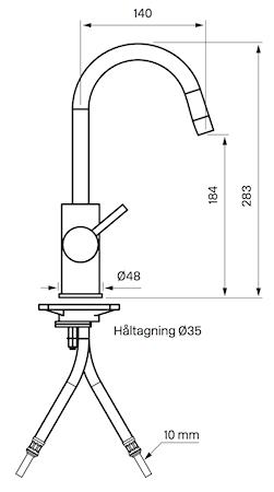 EVM078 Armatur Messing