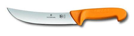 Cimeter Steak Knife, 20 cm, Swibo, gult handtag
