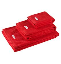 Fisher Island handduk röd - 100x150