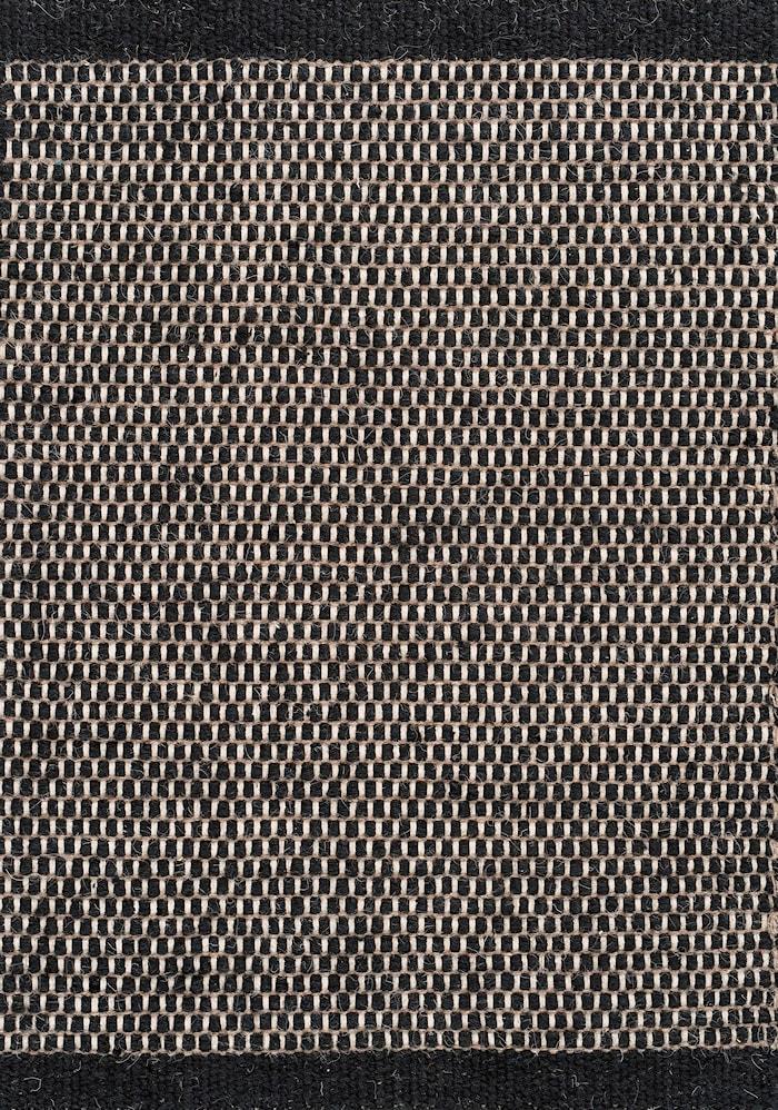 Asko Teppe Svart 140x200 cm