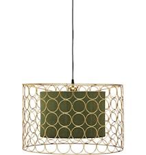 Taklampe Ring Gull/Grønn