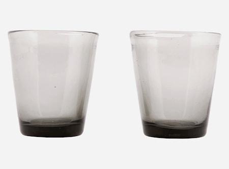 Glas Houston Ø 8x9 cm Grå