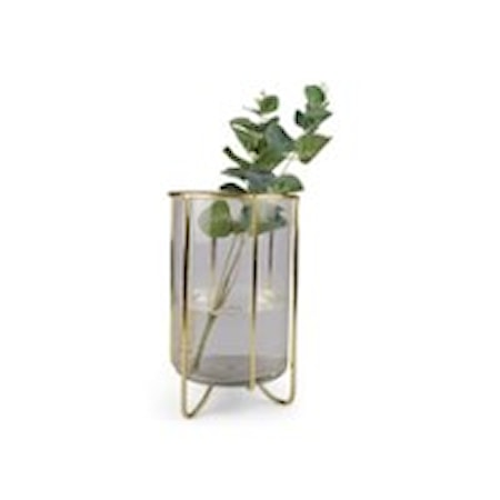 Form Living Vas Alice 13x22 cm Guld