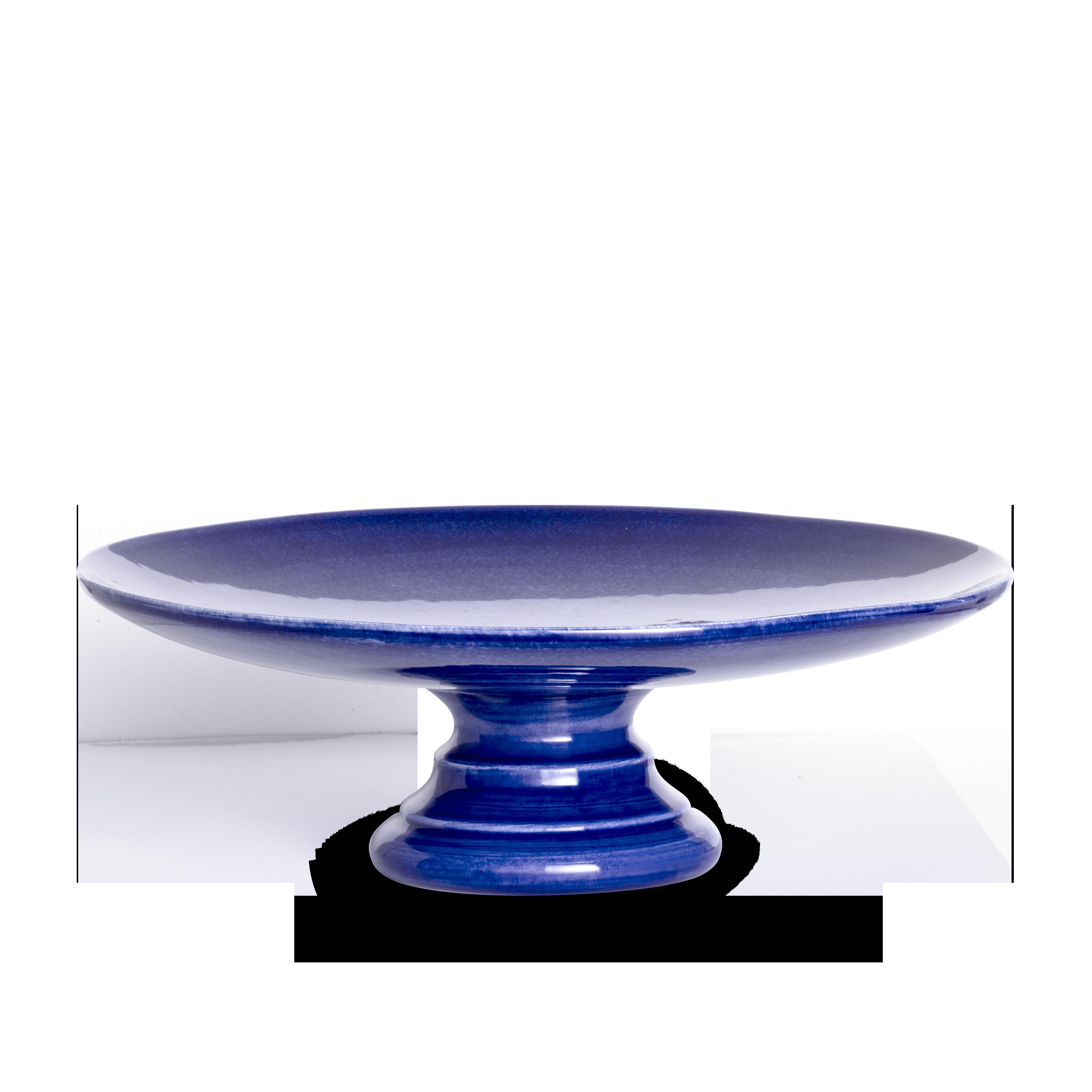 Basic Tårtfat Blå 33 cm