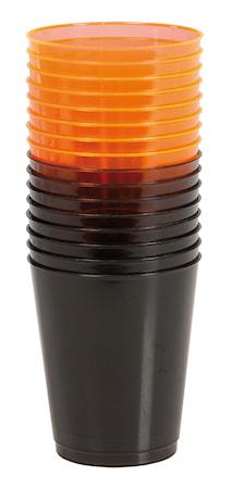 Plastglass Halloween 16-pakning