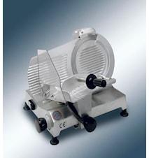Skjæremaskin med 27,5 cm klinga og innebygd slip