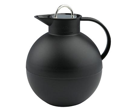Kulan Termoskanna med stålpropp Frostad Svart 094 liter