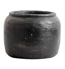 Cira Cement Kruka S Svart