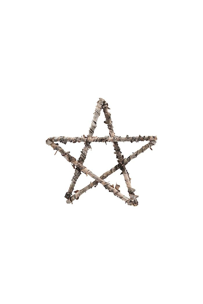 Ornament Star Ø 25 cm - Natur