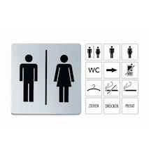 Informations Skilt mand/kvinde