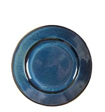 Lautanen Guilia sininen