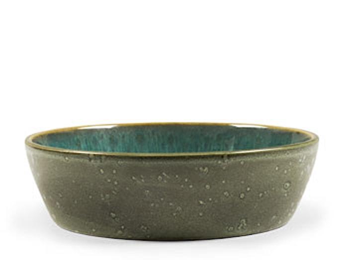 Suppeskål Ø18cm grøn/grøn Bitz