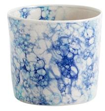 Krus Deco Ø 8 cm - Blå