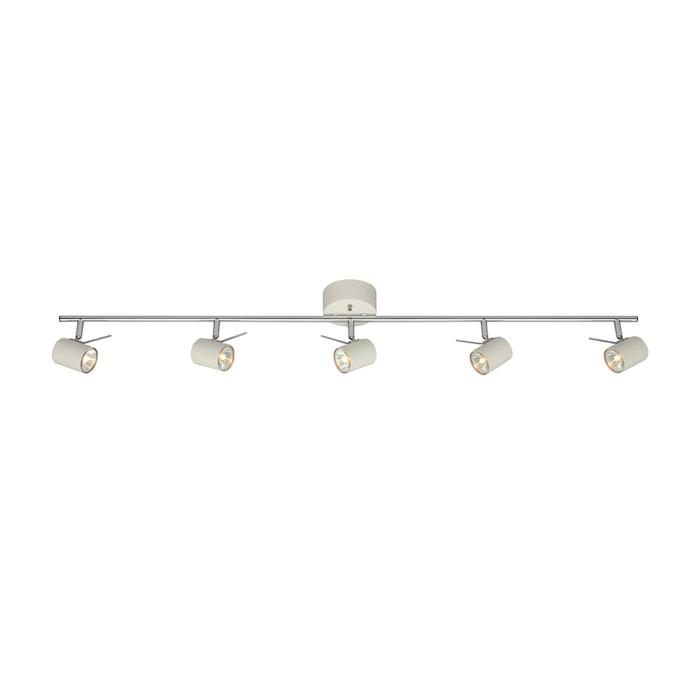 Hyssna LED taglampe 5 Lys hvid