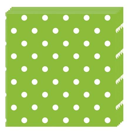 Gröna Prickar, Servetter, 20 st