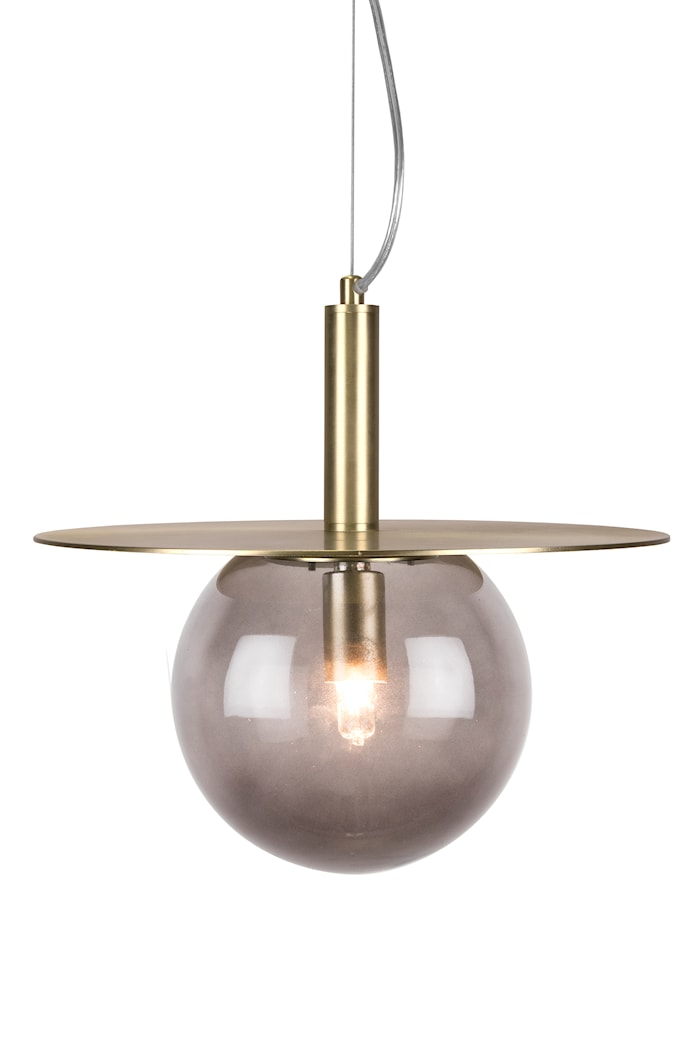 Lampe Art Deco Røg
