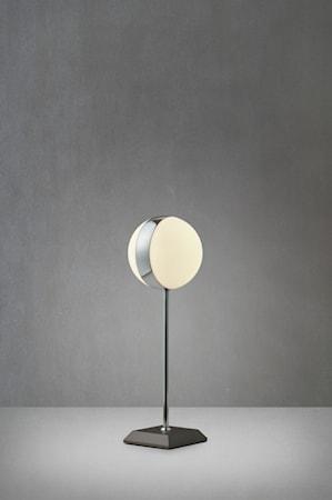 Circle Bordslampa Grå/Krom/Vit