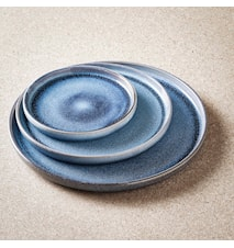 Sonja sininen aamiaislautanen 2-pakkaus