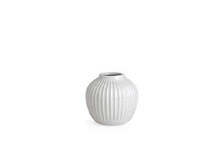 Hammershøi vase Hvid H 12,5 cm